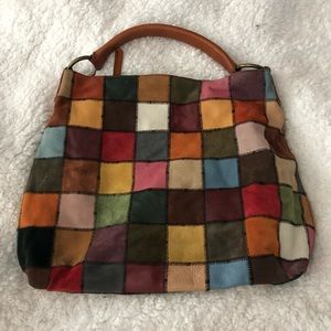 Lucky Brand Vintage Inspired LeatherBag *LIKE NEW*